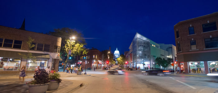 Madison at night - Credit Focal Flame Photography