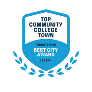 top community college towns