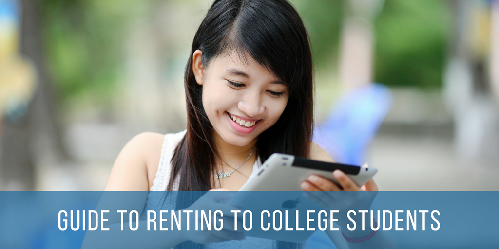Guide To Renting To College Students