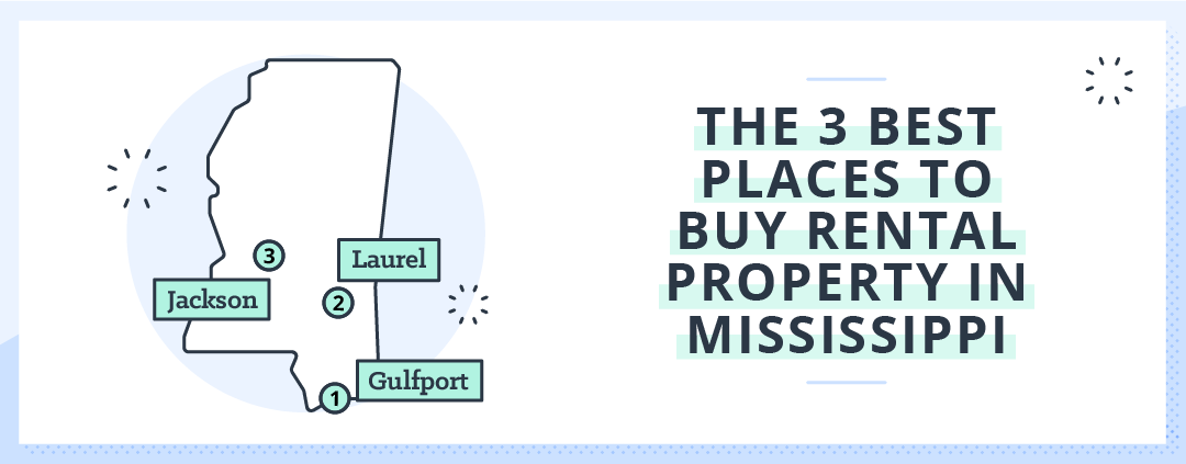 best places for rental investment in mississippi