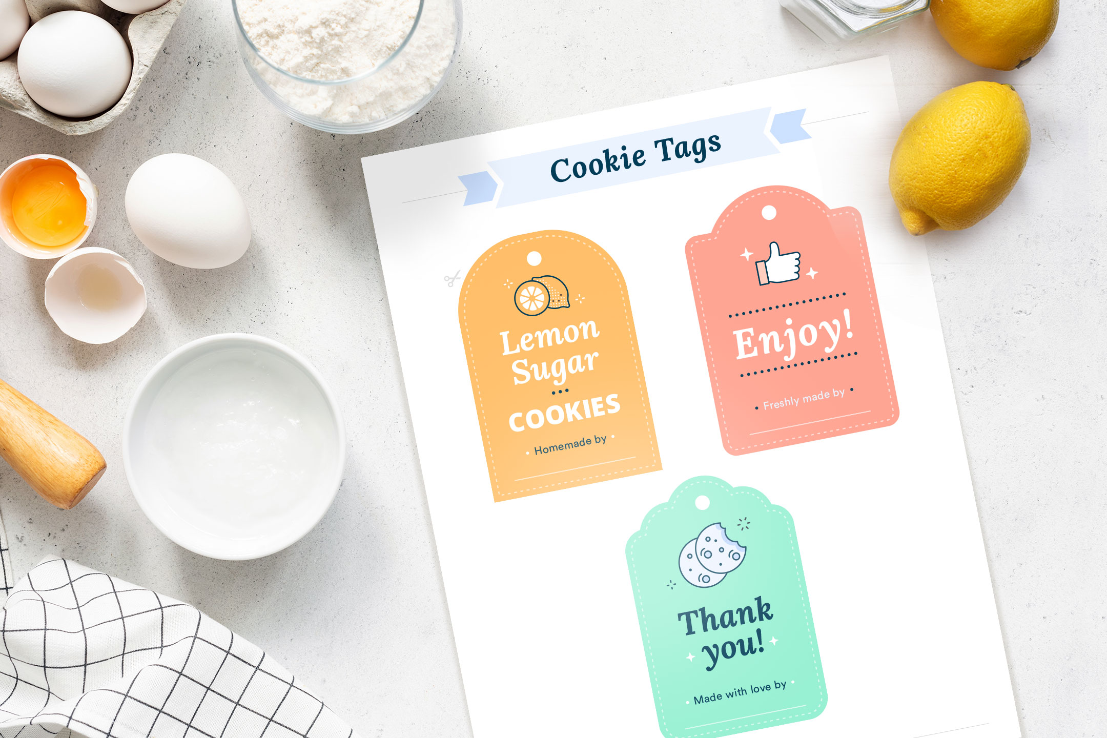 cookie tag printable